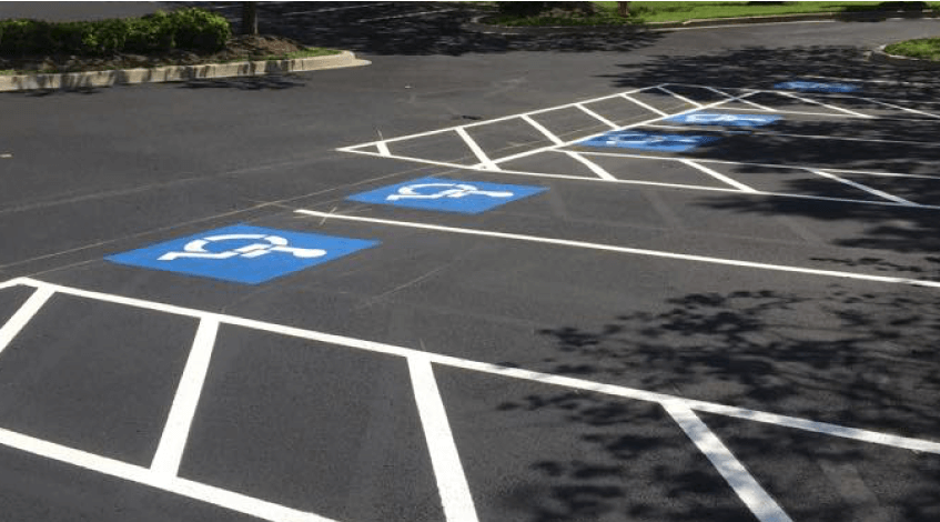 Parking Lot Striping Ellicott City MD 3